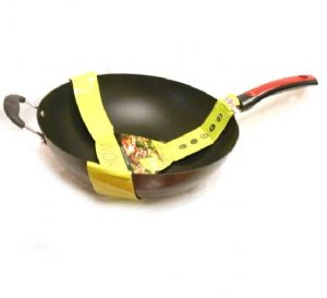 Large Non Stick Wok 34cm | Buy Online at The Asian Cookshop.